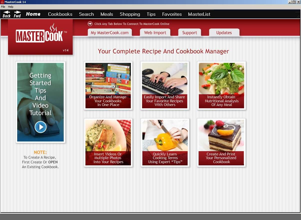 mastercook 14 software trial