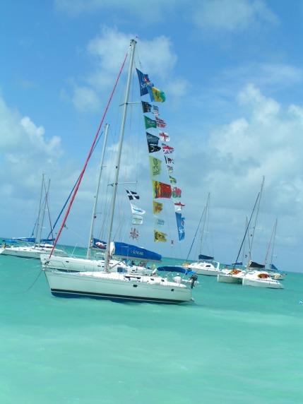 Catamaran Flags