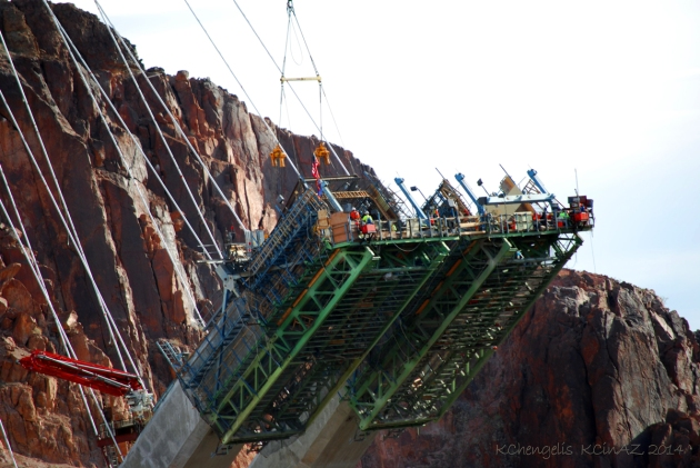 Building Hoover Dam Bridge in 2009
