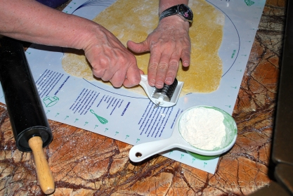 Use Cutter to Cut Dough