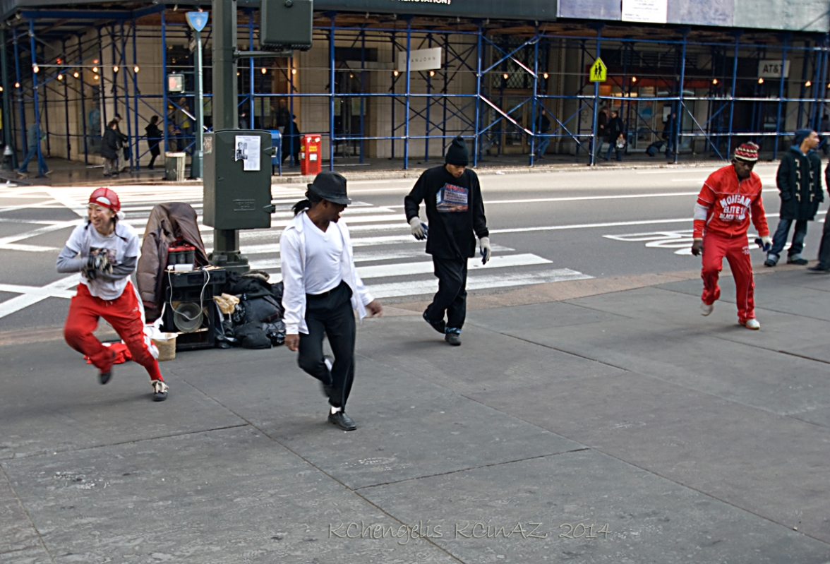 Street Life:  NYC Rap Dance