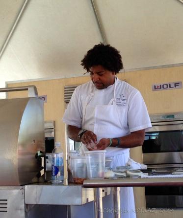 Chef Stephen Jones of Blue Hound Kitchen and Cocktails
