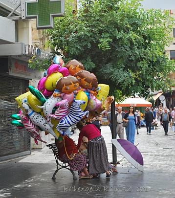 Mom, buy me a balloon