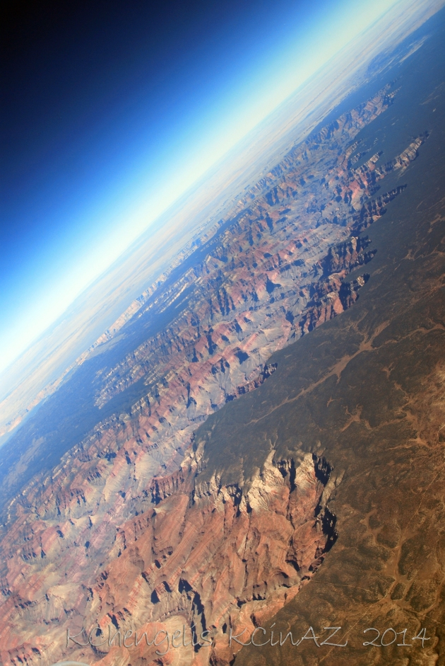 Grand Canyon and Skyline Curve