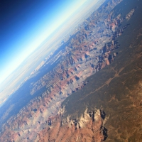 On Top:  Over the Grand Canyon