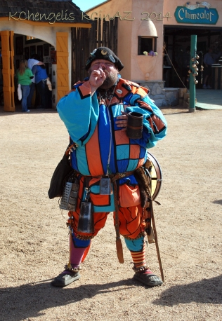 Original Jester at the Renaissance Festival