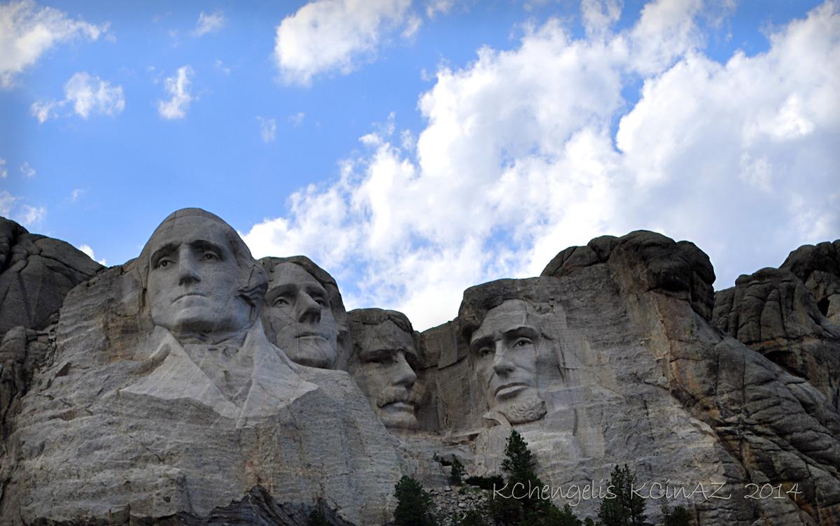 Four Presidents Glorified beyond their lifetime.