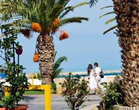 A walk along the beach