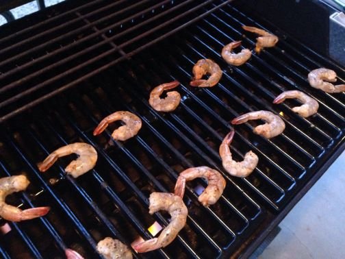 Chipotle Shrimp on the Grill