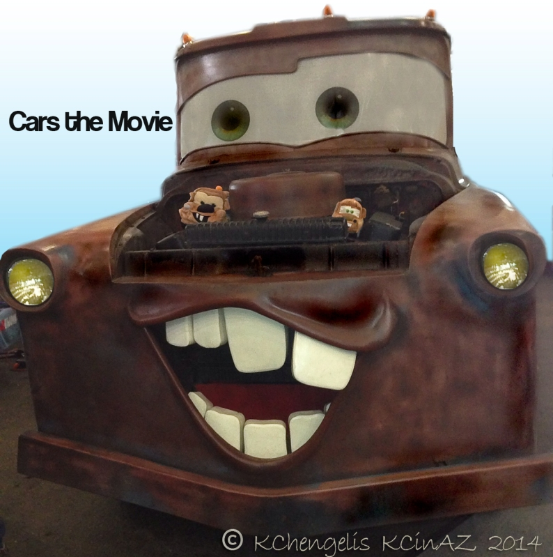 Larry the Cable Guy starring in Cars the Movie