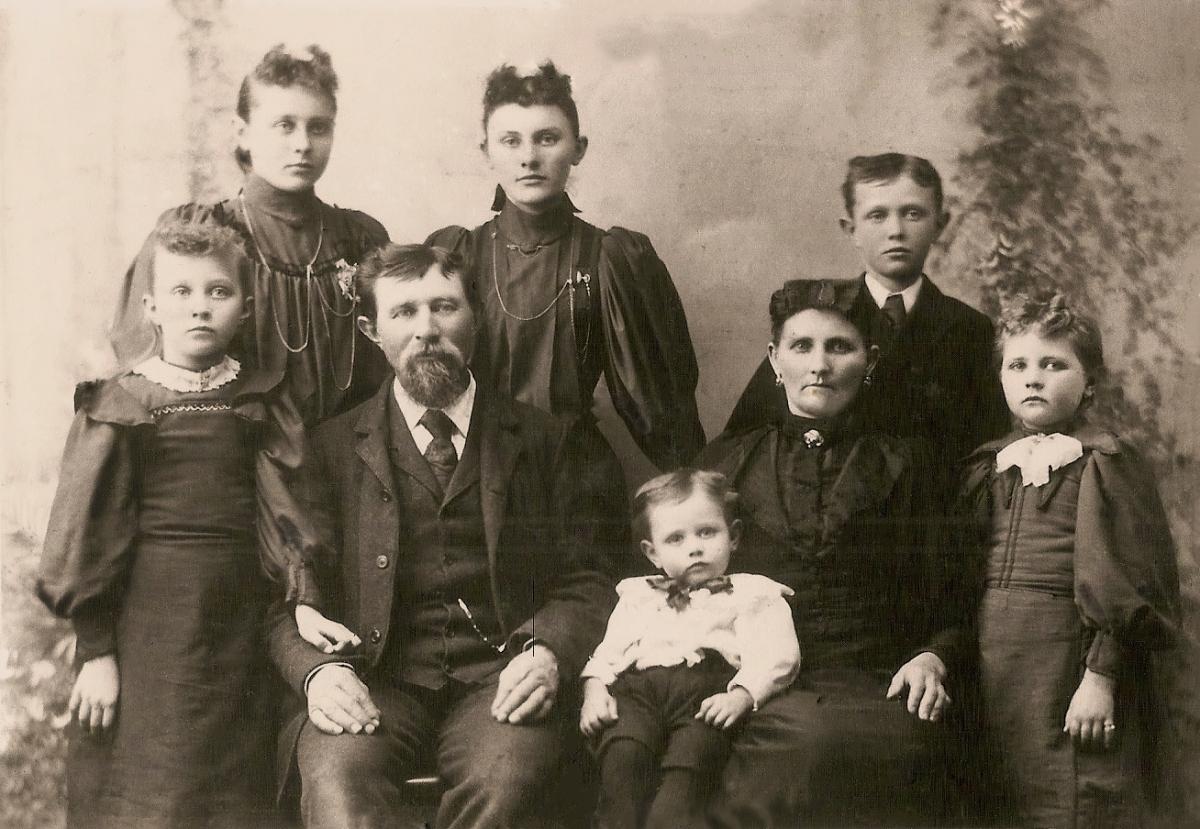 Bergman Family Sepia