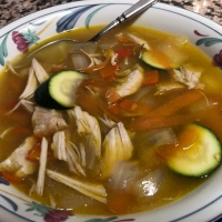Lunch Today - Turkey Vegetable Soup